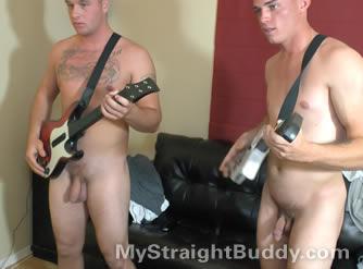 Nude Jerk Contest